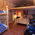 Montana Cabin interior